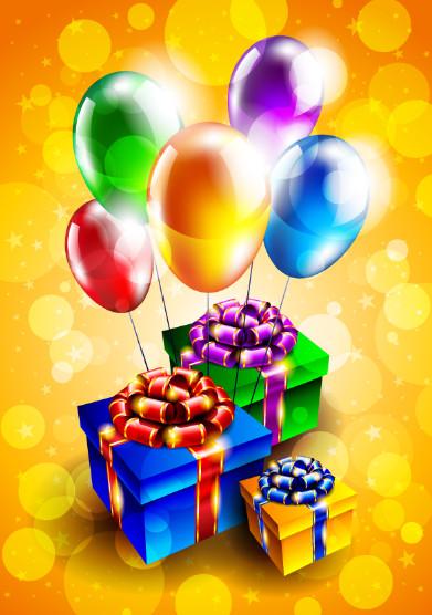 Поздравления с днём рождения с подарками и шутки